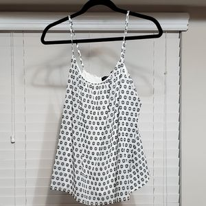 The Limited Black & White Camisole Size: M